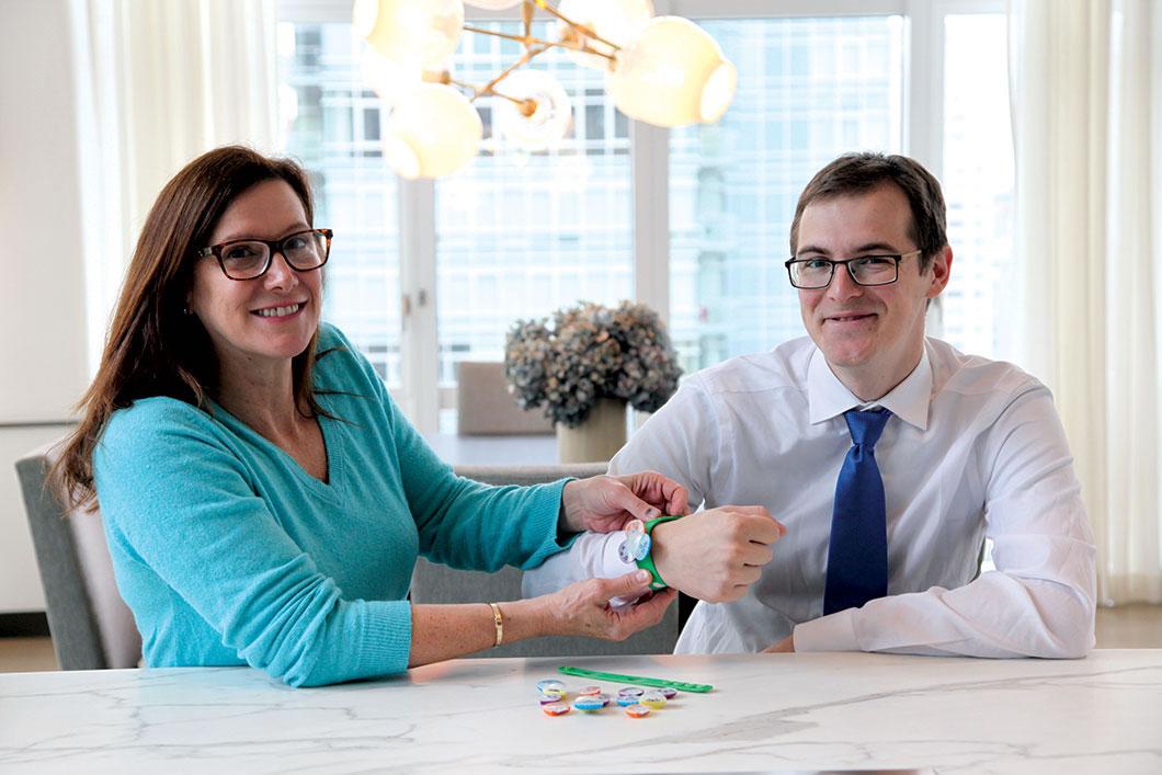 Linkitz founders Lyssa Neel and Andrew Macrae '11