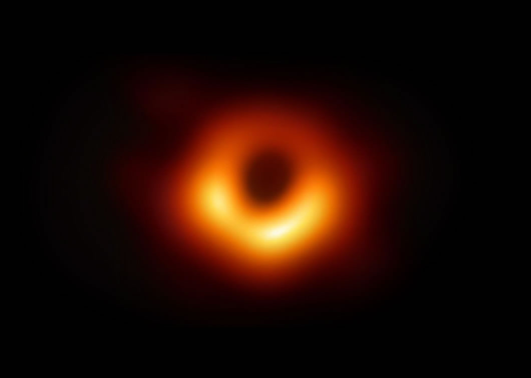 Image of black hole