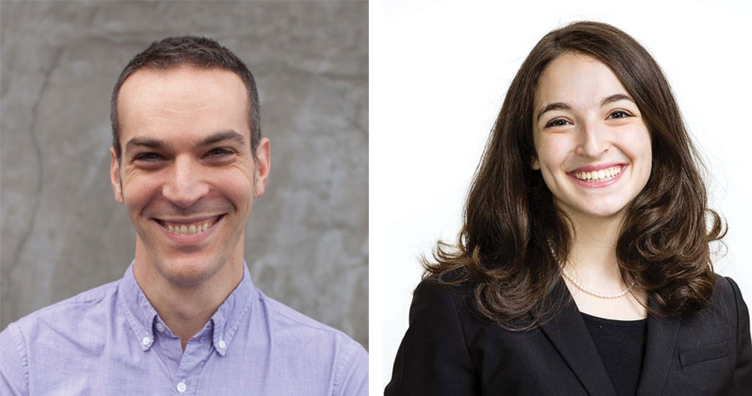 Dan Shapiro '97, Glowforge and Jaclyn Olmos-Silverman '13, General Electric Commercial Leadership Program