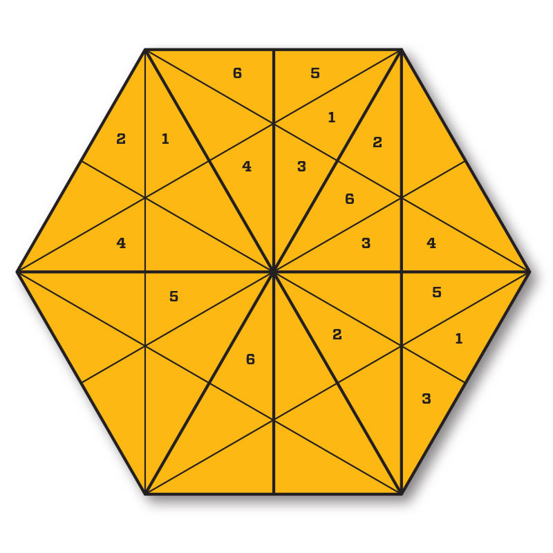 Torus Sudoku puzzle.