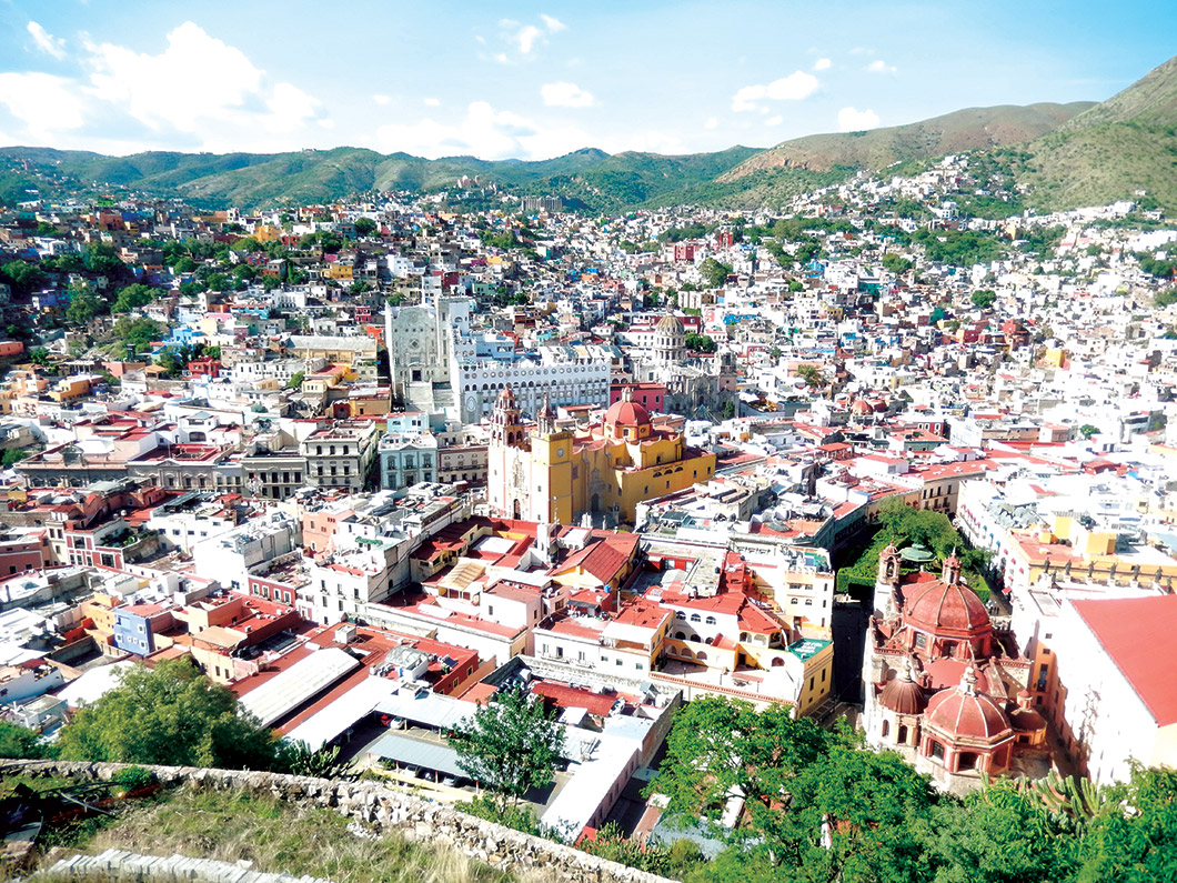 View of Cervantino.