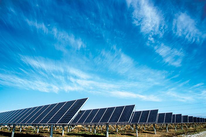 Solar array.